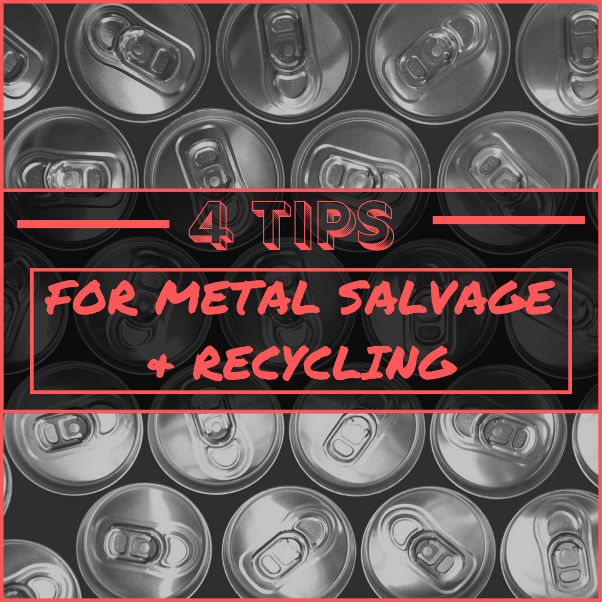 Want to earn more from your scrap metal and recycling hobby? Here are four helpful tips.