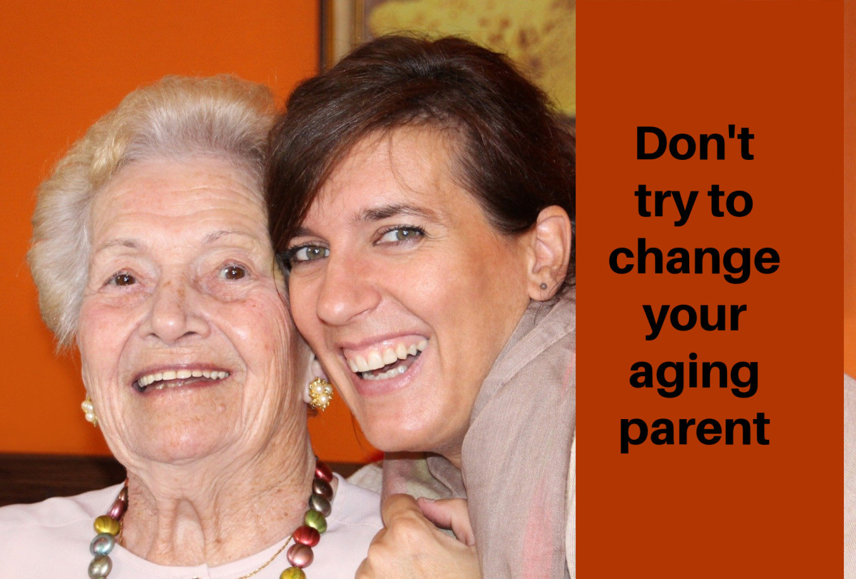 How to Care for an Aging Parent While Keeping Your Sanity