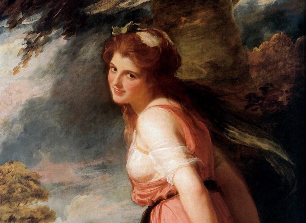 Emma Lady Hamilton,  mistress of Horatio Nelson