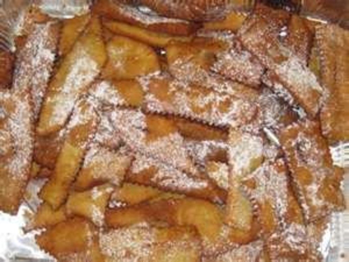 Biscotti: Cenci Cookies