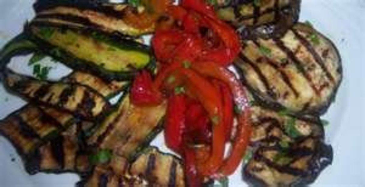 Contorni: Verdure grigliate