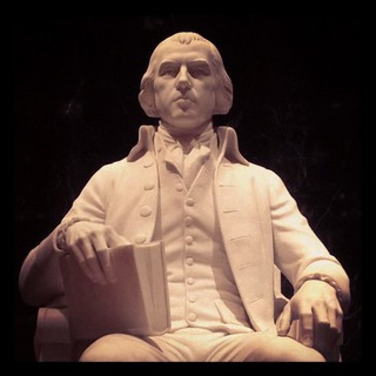Statute of President James Madison memorial by Walker Hancock is located in the Library of Congress.