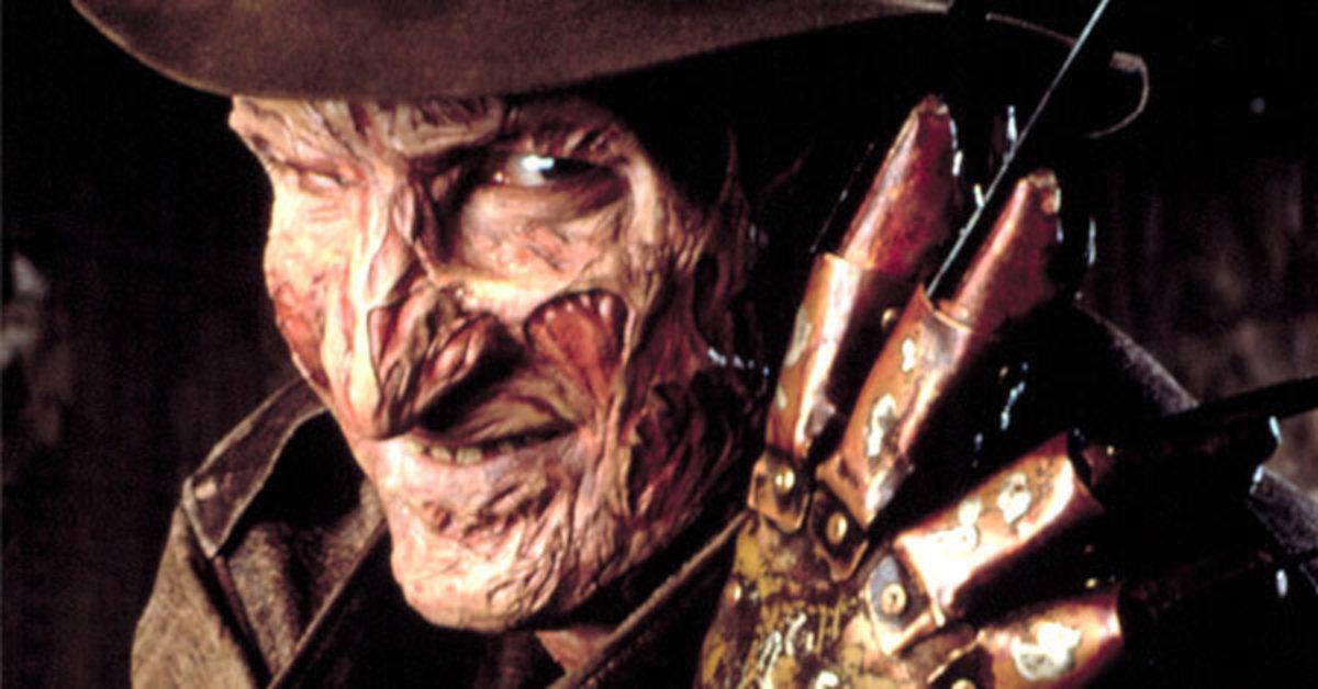 Freddy Krueger and his staple, razor finger glove.
