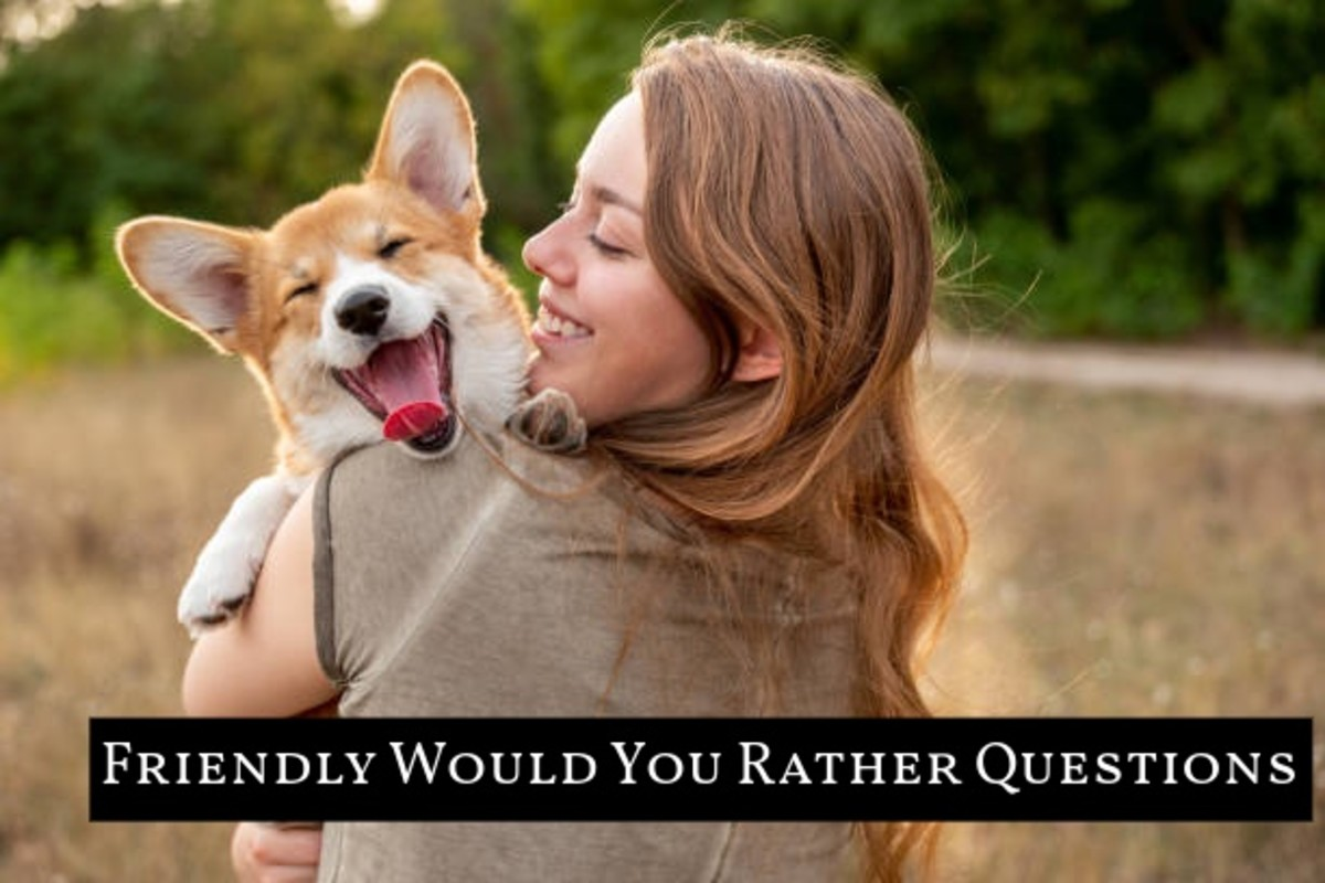 """Friendly """"Would You Rather"""" questions help you to get a conversation started or help you to better get to know someone."""