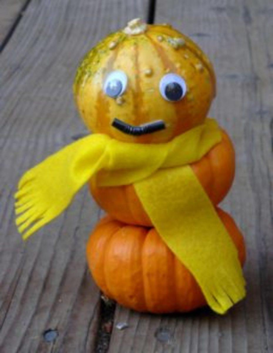 Pumpkin Snowman by Kirsti A. Dyer