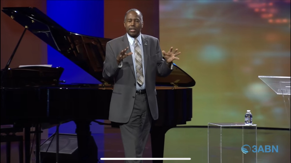 Dr. Ben Carson delivered the message at the Virtual 3ABN Homecoming Fall Camp Meeting 2021 streamed on 3 Angels Broadcasting Network.