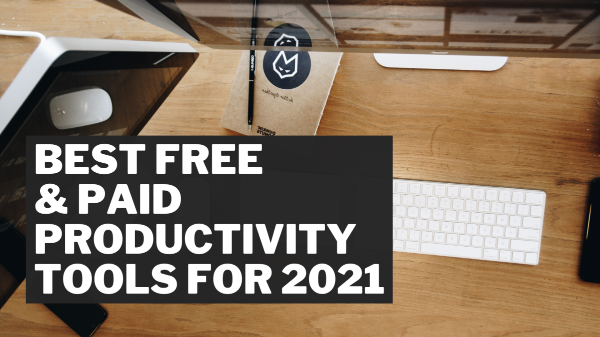 Productivity tools exist to help automate tedious tasks and improve your quality of work.