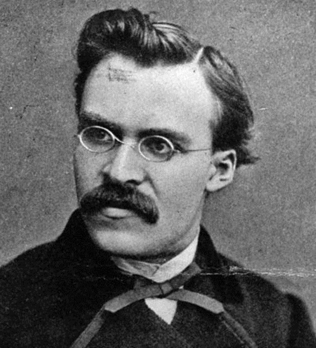 Nietzsche allegedly influenced Hitler.