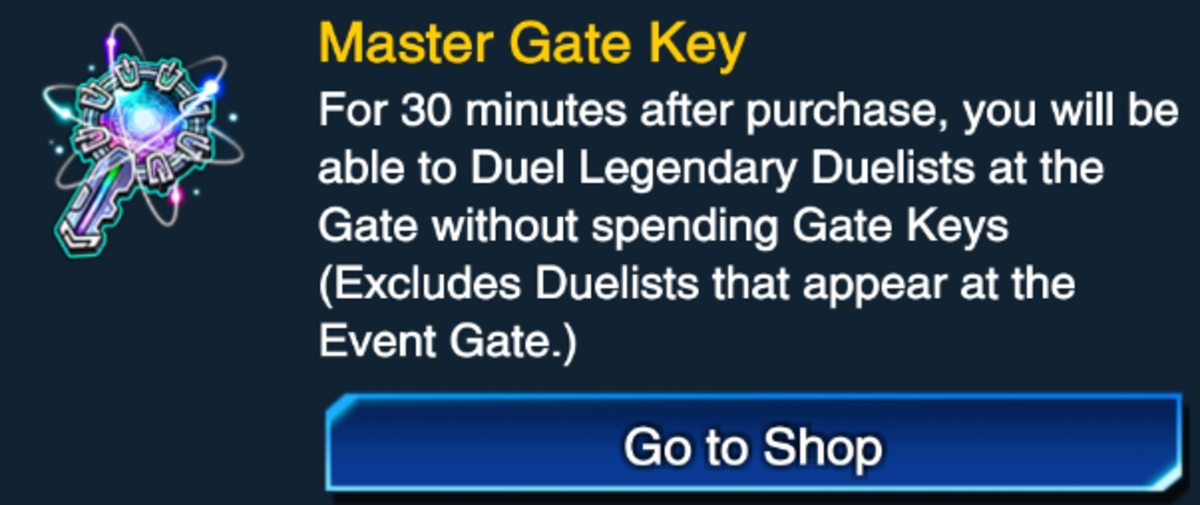 If you're short on time before a KC Cup, the Master Gate Key might be just what you are looking for.