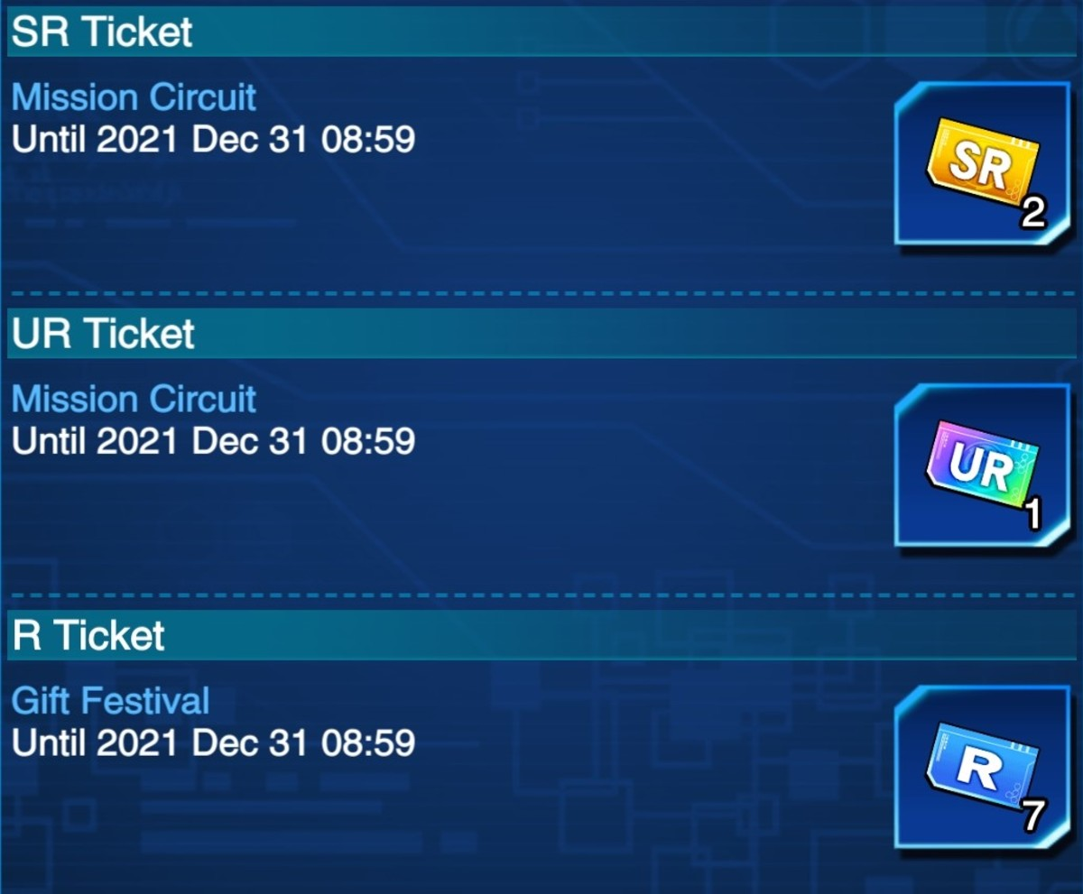 Always make sure you're playing when there is an event going on. Tickets are invaluable.