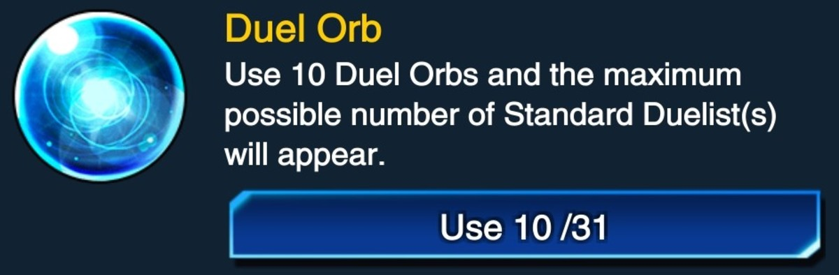 You need x10 Duel Orbs in order to respawn all Standard Duelists.