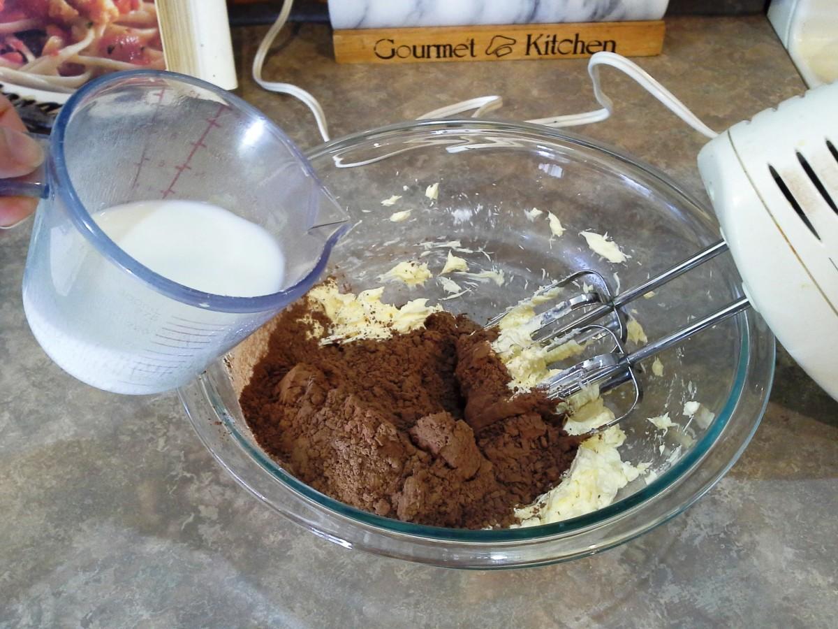 Step Five: Add your milk