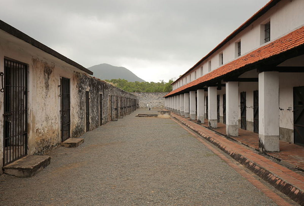 The Poulo Condor prison camp, used by the French: repression is very rarely mentioned in the book