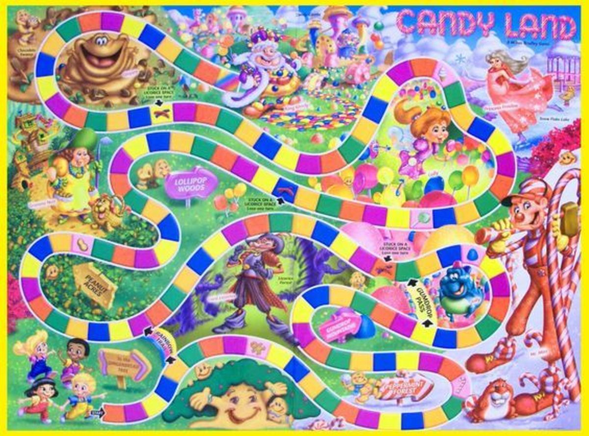 """Candy Land, a simple board game manufactured by Hasbro, was launched. """"The game requires no reading and minimal counting skills, making it suitable for young children."""""""