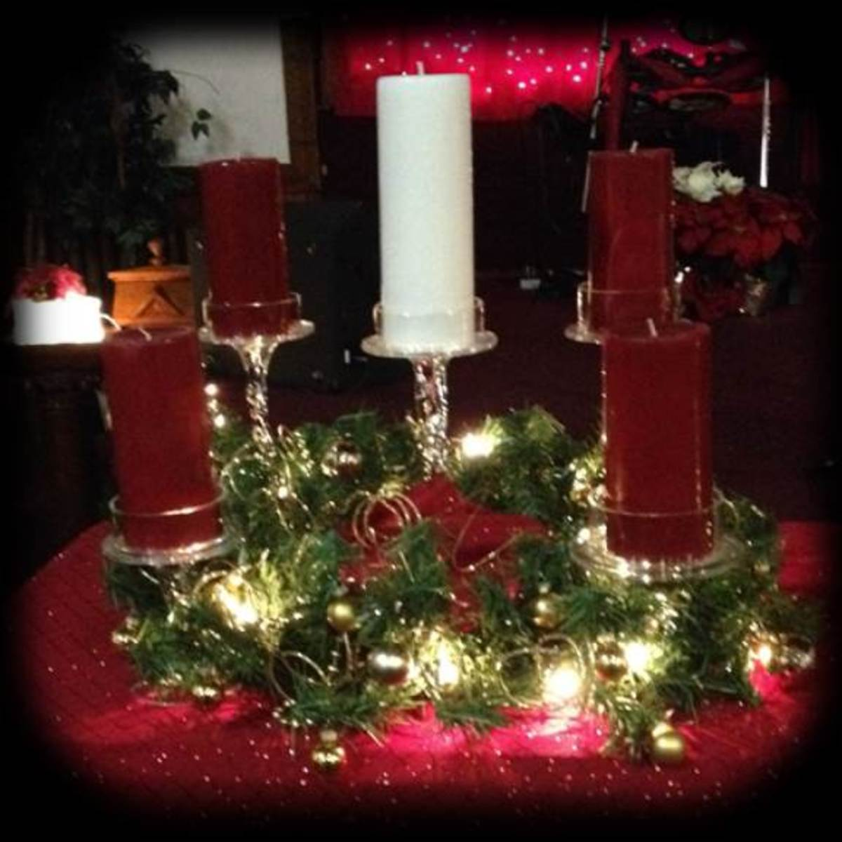 Sycamore Tree Church 2014 Advent Wreath