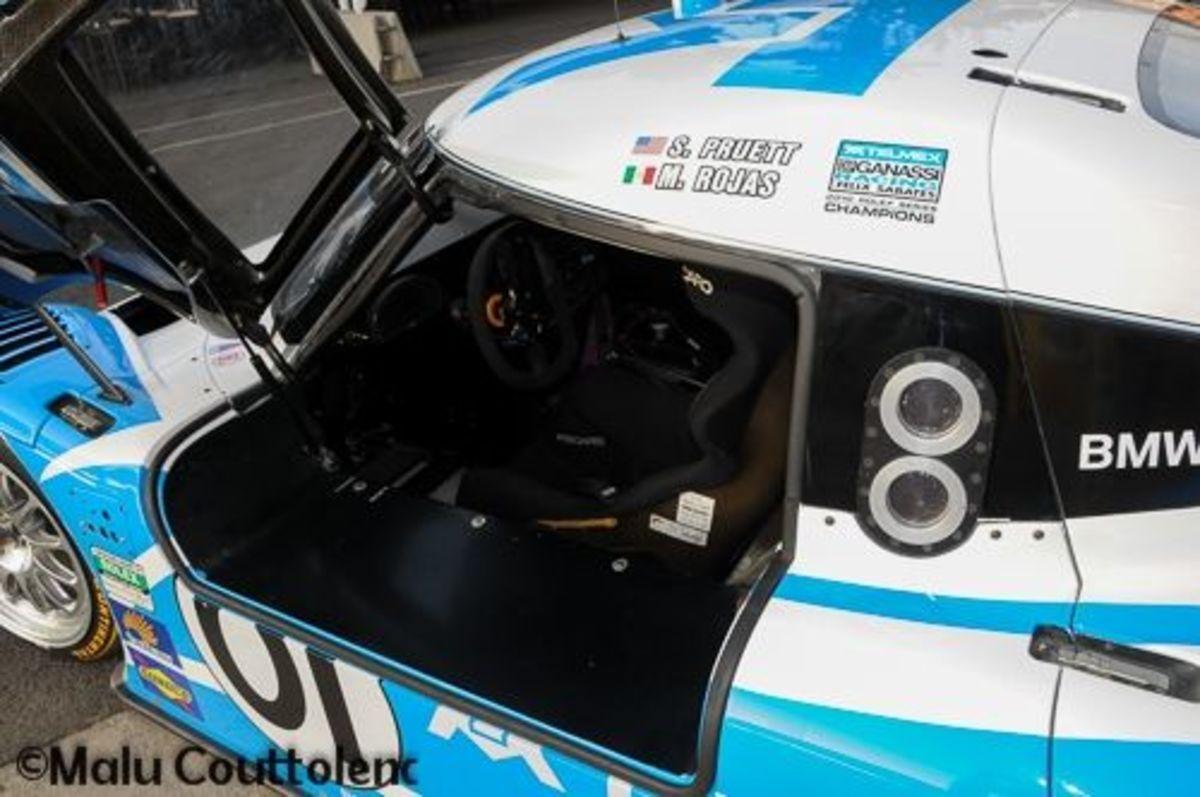 Another view of Memo Rojas Jr and Scott Pruett's Car