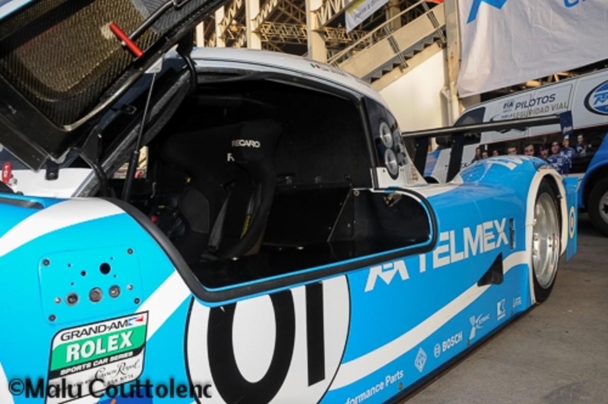 One more view of Memo Rojas Jr and Scott Pruett's Car