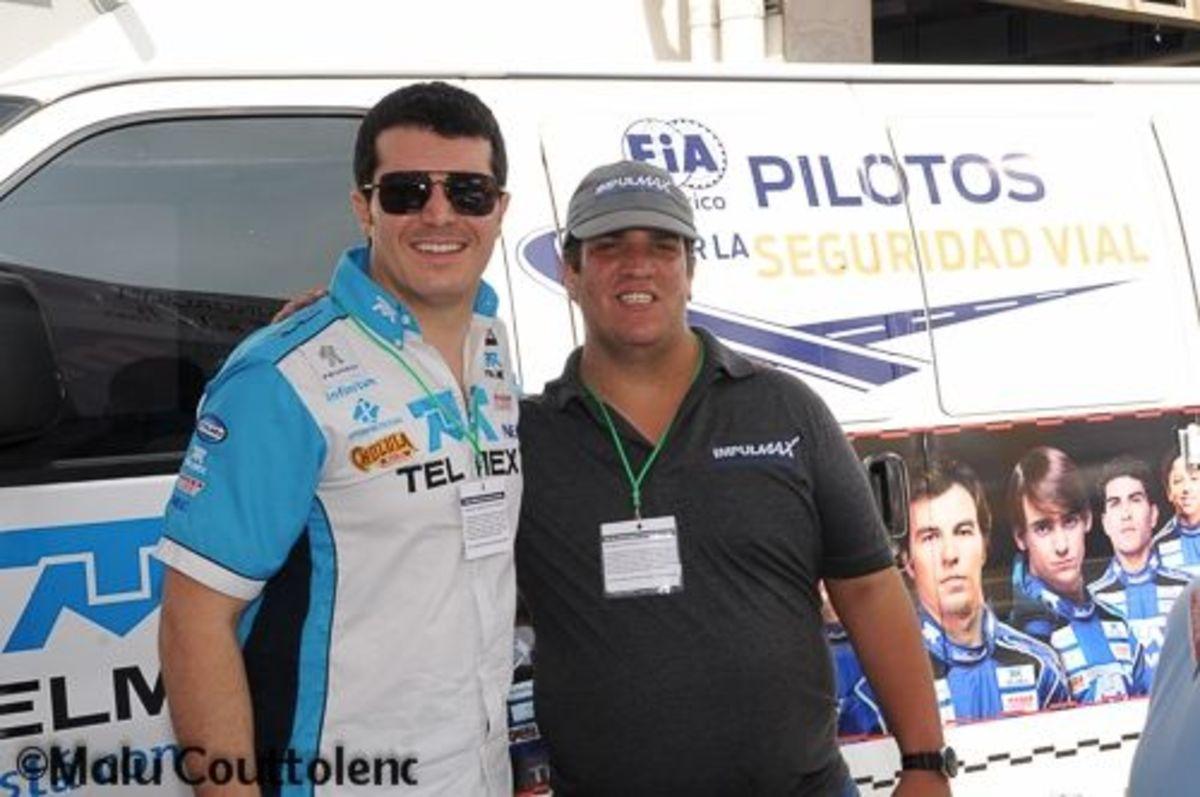 Memo Rojas Jr and my son