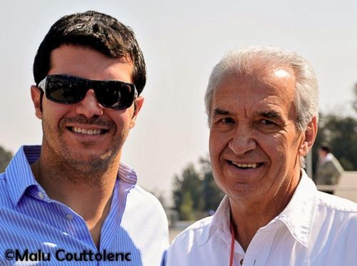 Memo Rojas Sr and Memo Rojas Jr