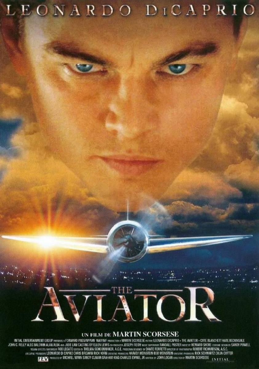 The Aviator (2004) French poster