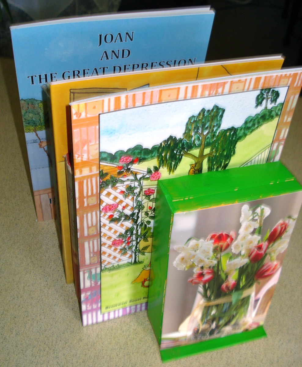 Children's Craft: How to Make Bookends