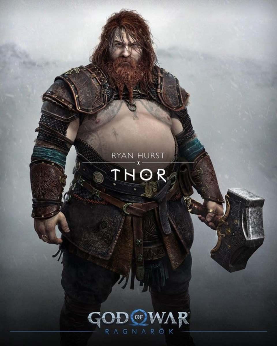 Who's in God of War Ragnarok