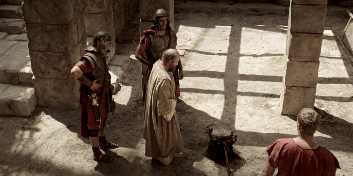 Paul was willing to suffer for Christ. He is escorted here to his execution.