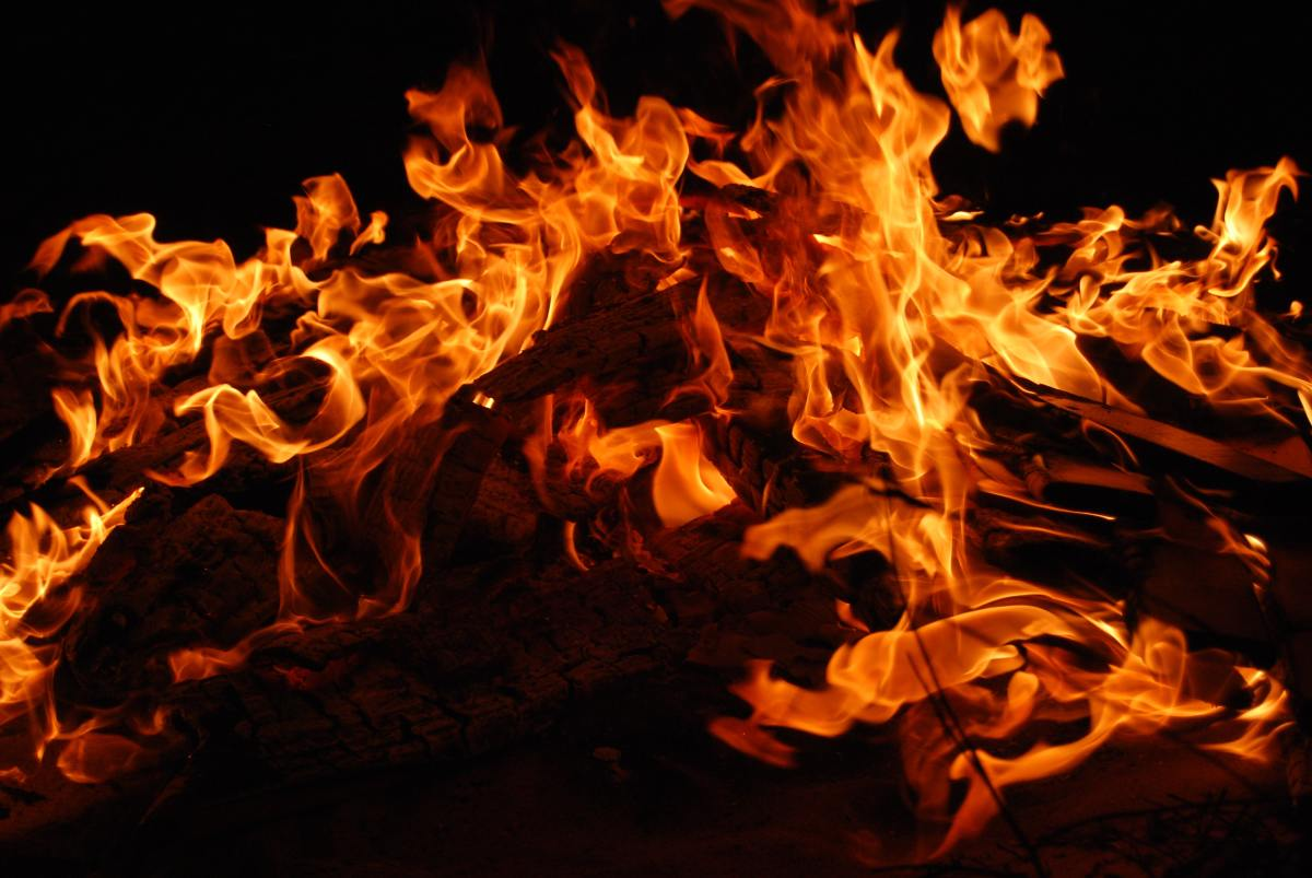 The hell associated with the messianic Advent has nothing to do with burning in a material fire.