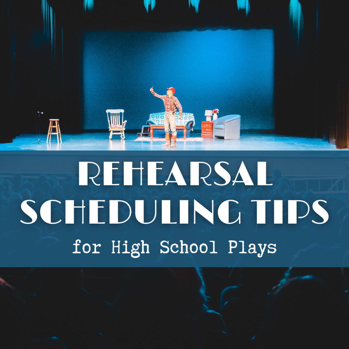If you're directing a high school play, learn how to effectively schedule the rehearsals.