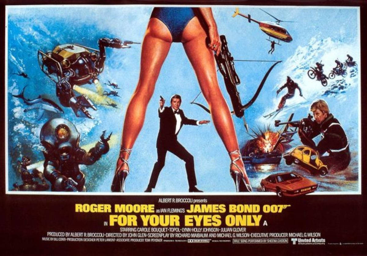 "Poster for ""For Your Eyes Only"""