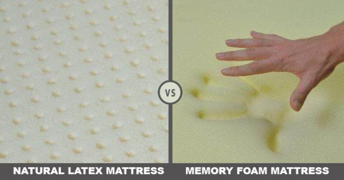 Latex and or Memory Foam
