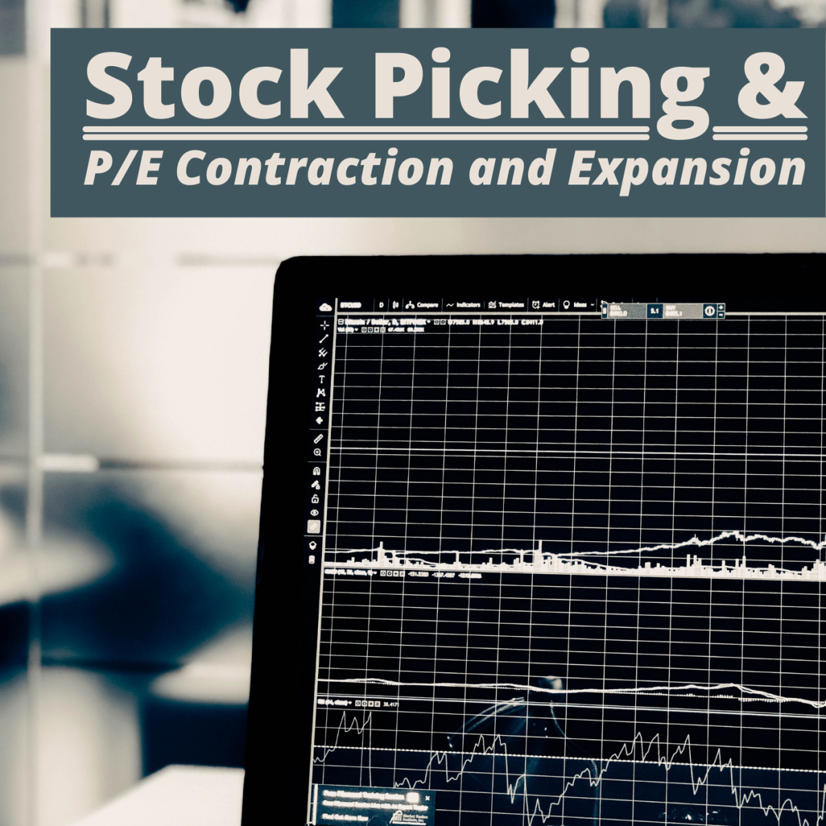 How can changing P/E values help you decide when to buy and sell?