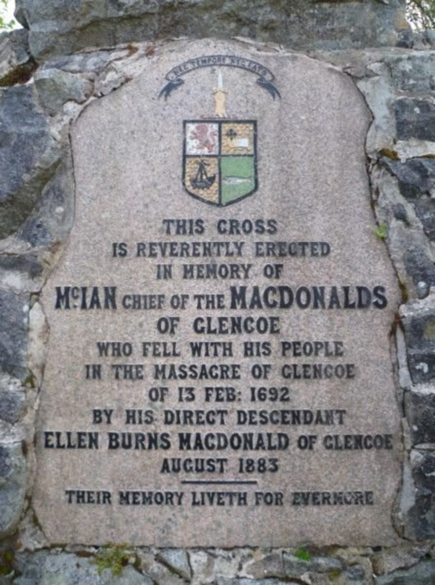 A Dark Day in Scotland; the Clan Macdonald Massacre and Trap of 1692