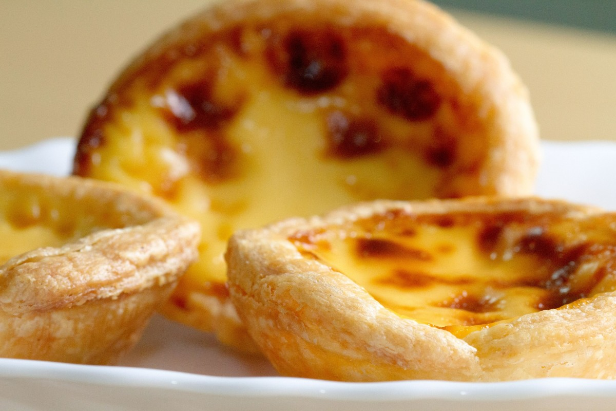 Puffed pastry filled with cheese