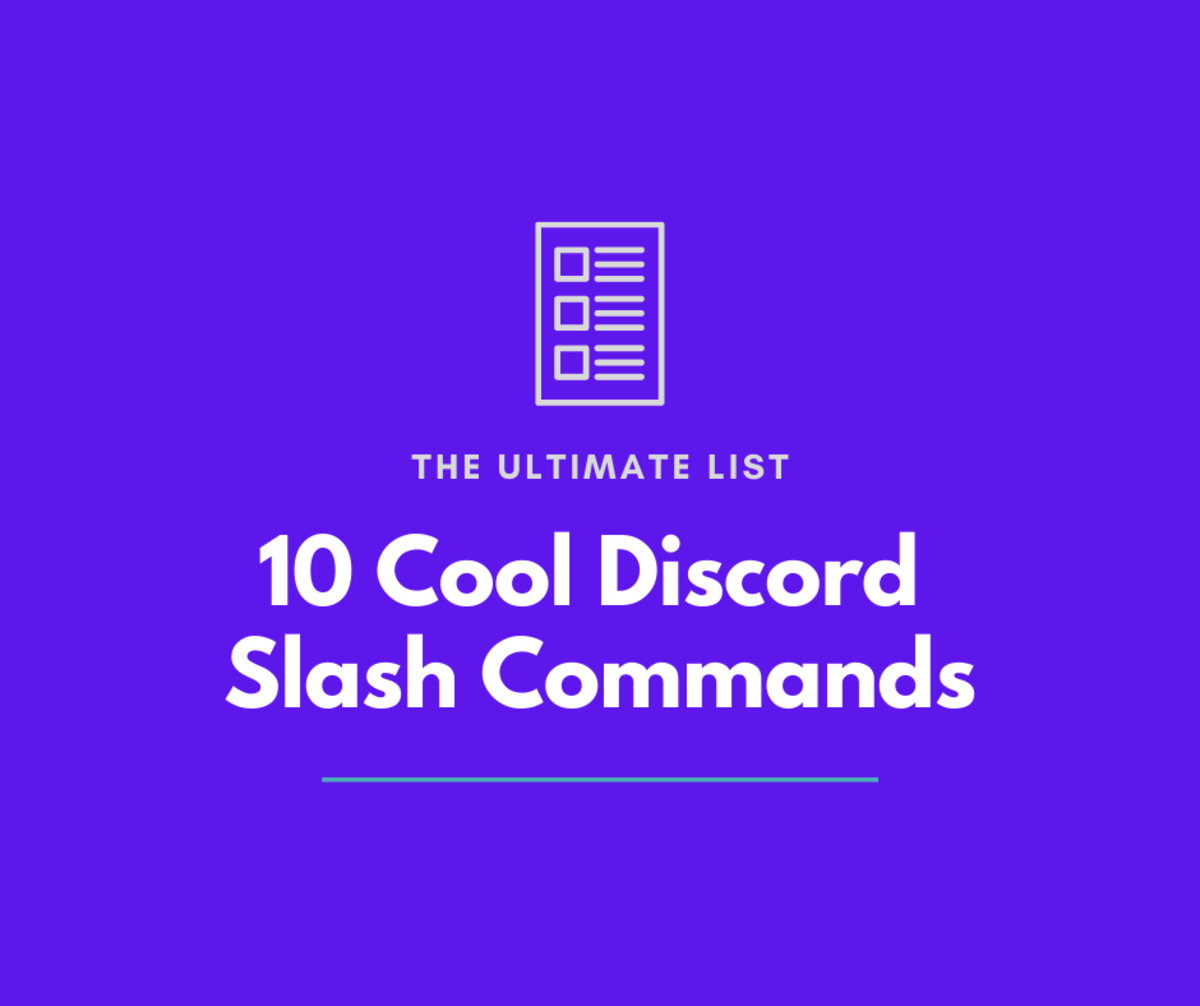 Discover 10 cool and useful Discord slash commands in this ultimate list!