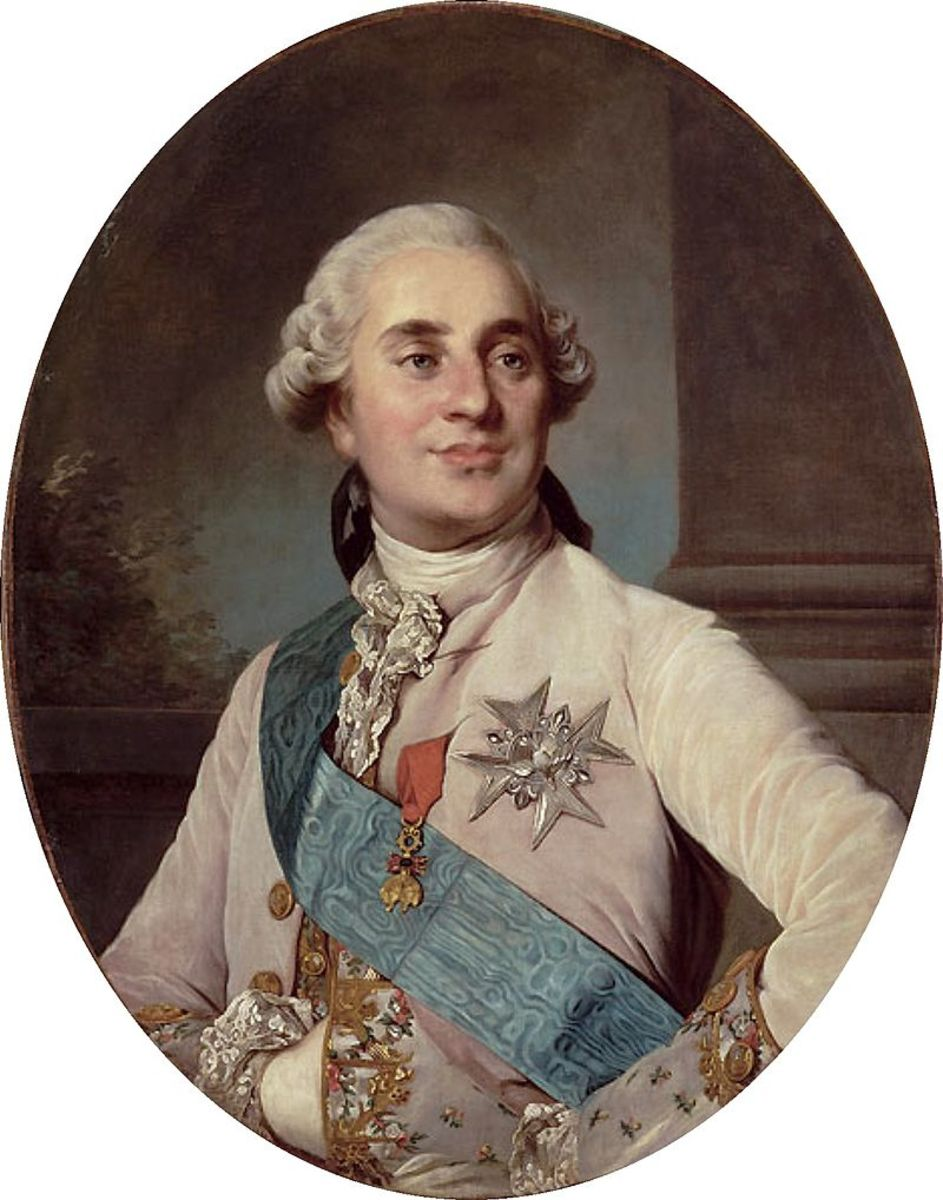 Louis XVI of France, husband of Marie Antoinette and the last ruler of France's Ancien Regime.