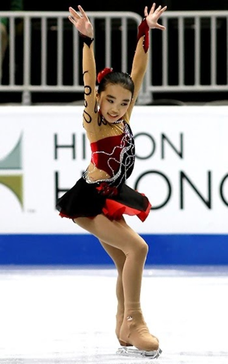 """Karen Chen wins the U.S. Figure Skating Championships with the highest competition score ever while skating to Drew Tretick's London Symphony Orchestra recording of """"The Godfather"""" (from his Cinema Classics album)"""