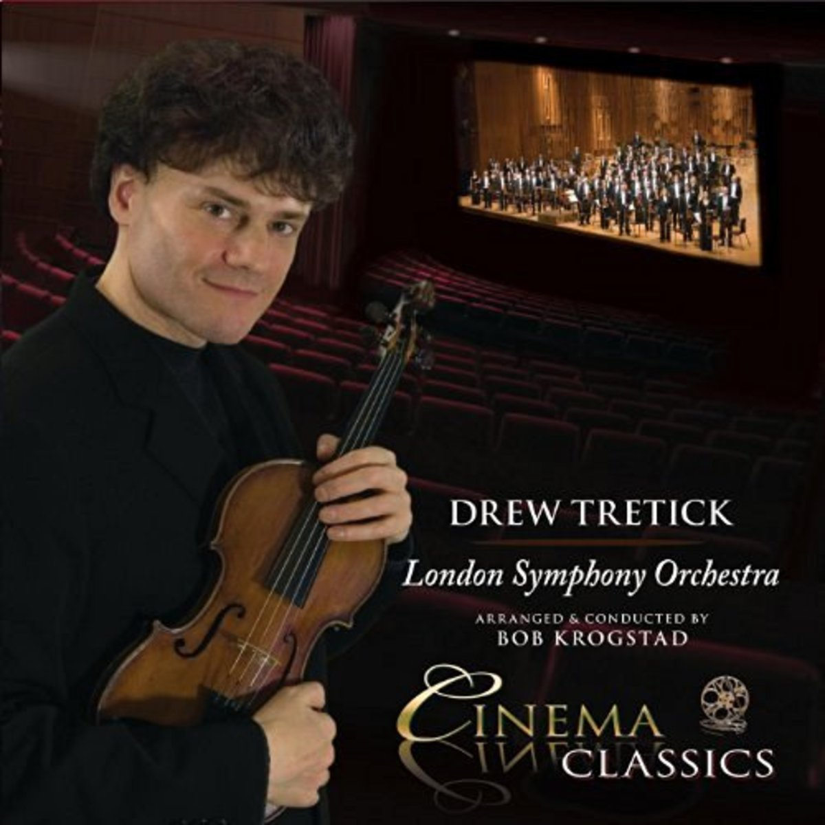 Drew Tretick's London Symphony Orchestra recording with legendary arranger, Bob Krogstad (Natalie Cole, Mel Torme, Michael Crawford, Disney, etc.); a collection of Cinema Classics meticulously engineered by Drew and 4-time Grammy winner John Kurlande