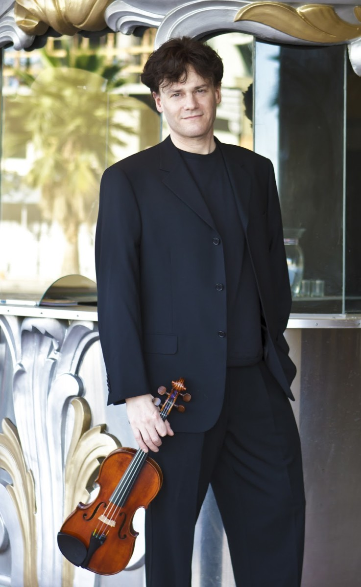 If you thought playing the violin means a life in orchestra pits...think again. Drew Tretick has gone beyond classical settings.