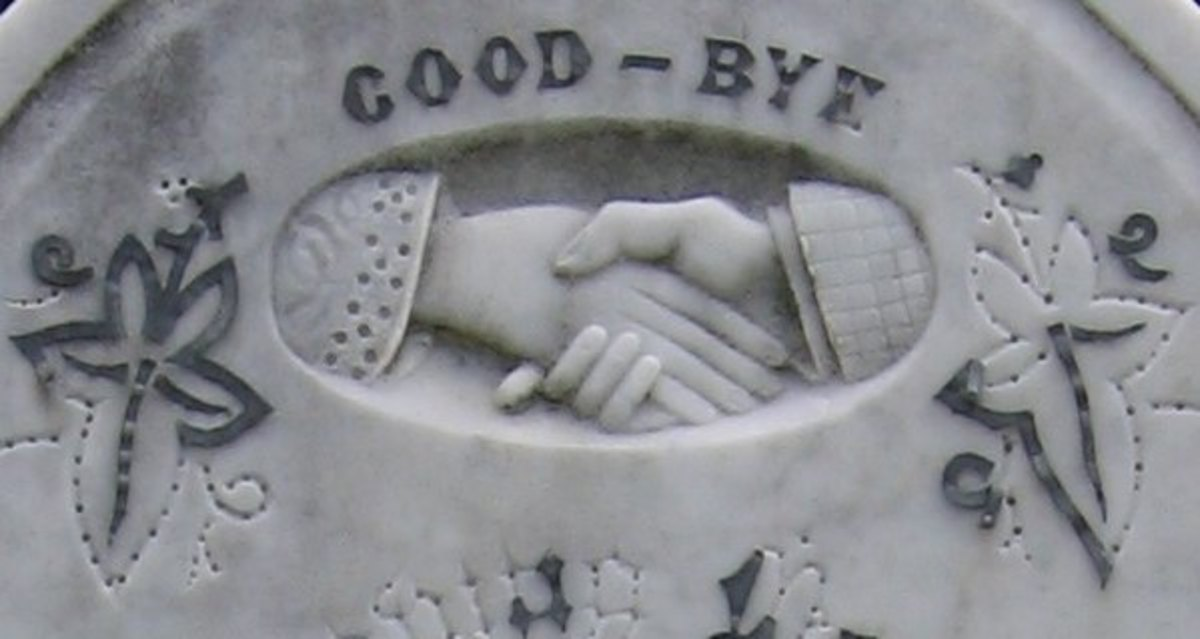 A form of goodbye.