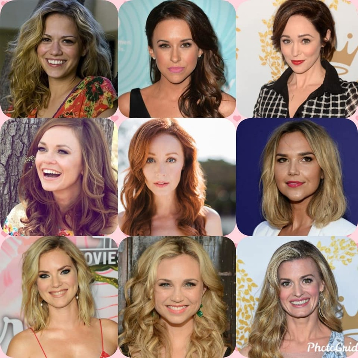 Here are some of the popular Hallmark movie actresses