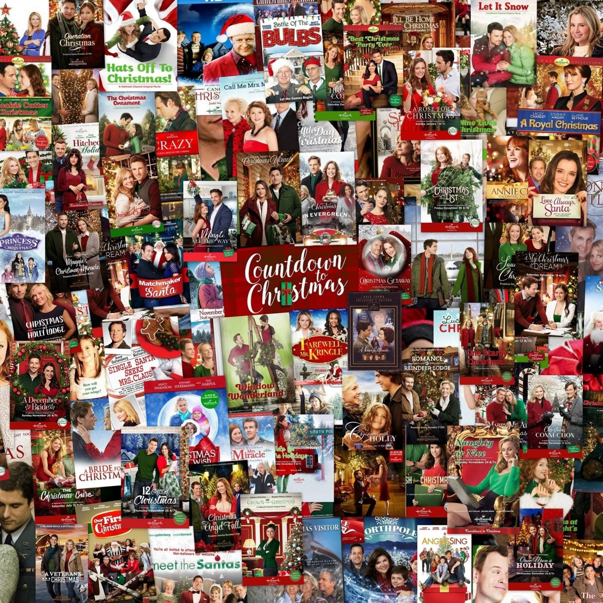 Hallmark Christmas Movie Countdown For 2021