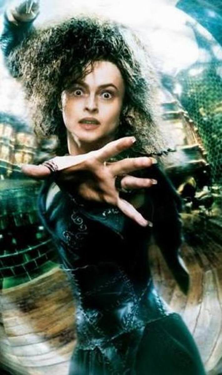 Helena Bonham Carter in Harry Potter and the Deathly Hallows p.2 (2011)