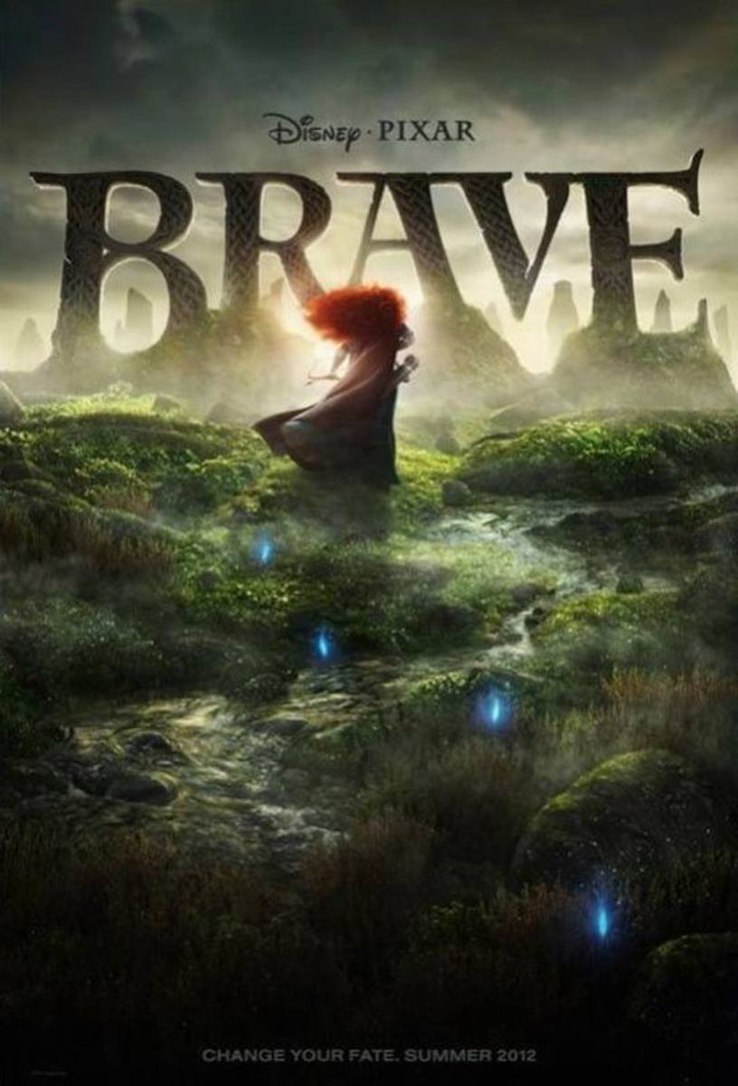 Brave (2012) poster