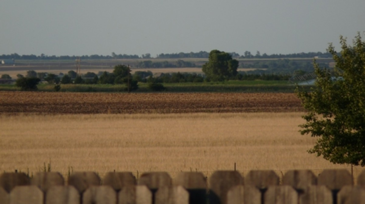 A Farm Outside of Weatherford, Oklahoma