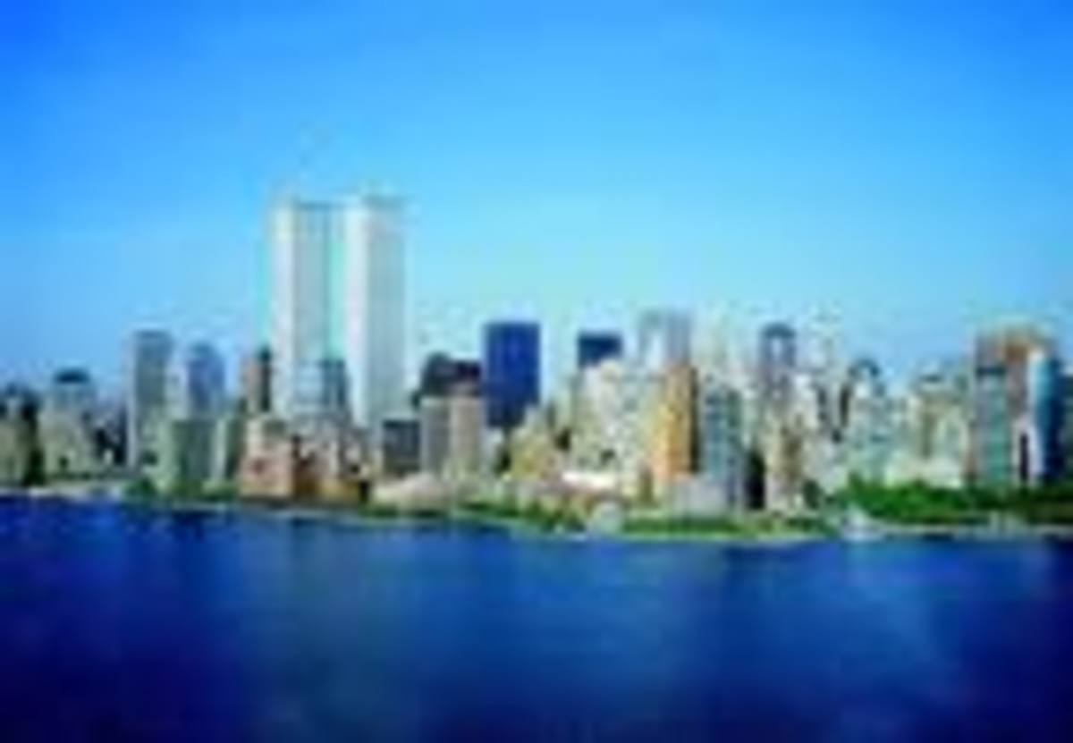 Ol' NYC, NY...I love New York...What a city! I went up in the WTC on a cool September morning...!? Still can't believe they are gone...and everything that happened there...to innocent people.