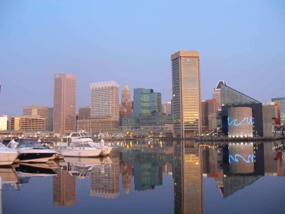 Baltimore Harbor, Maryland