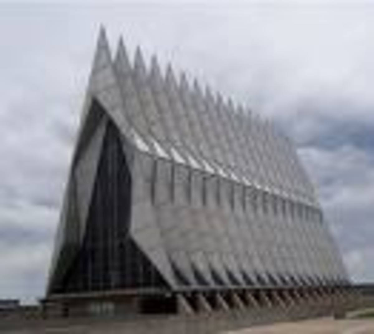 The Cadets Chapel, United States Air Force Academy, Colorado Springs, Colorado
