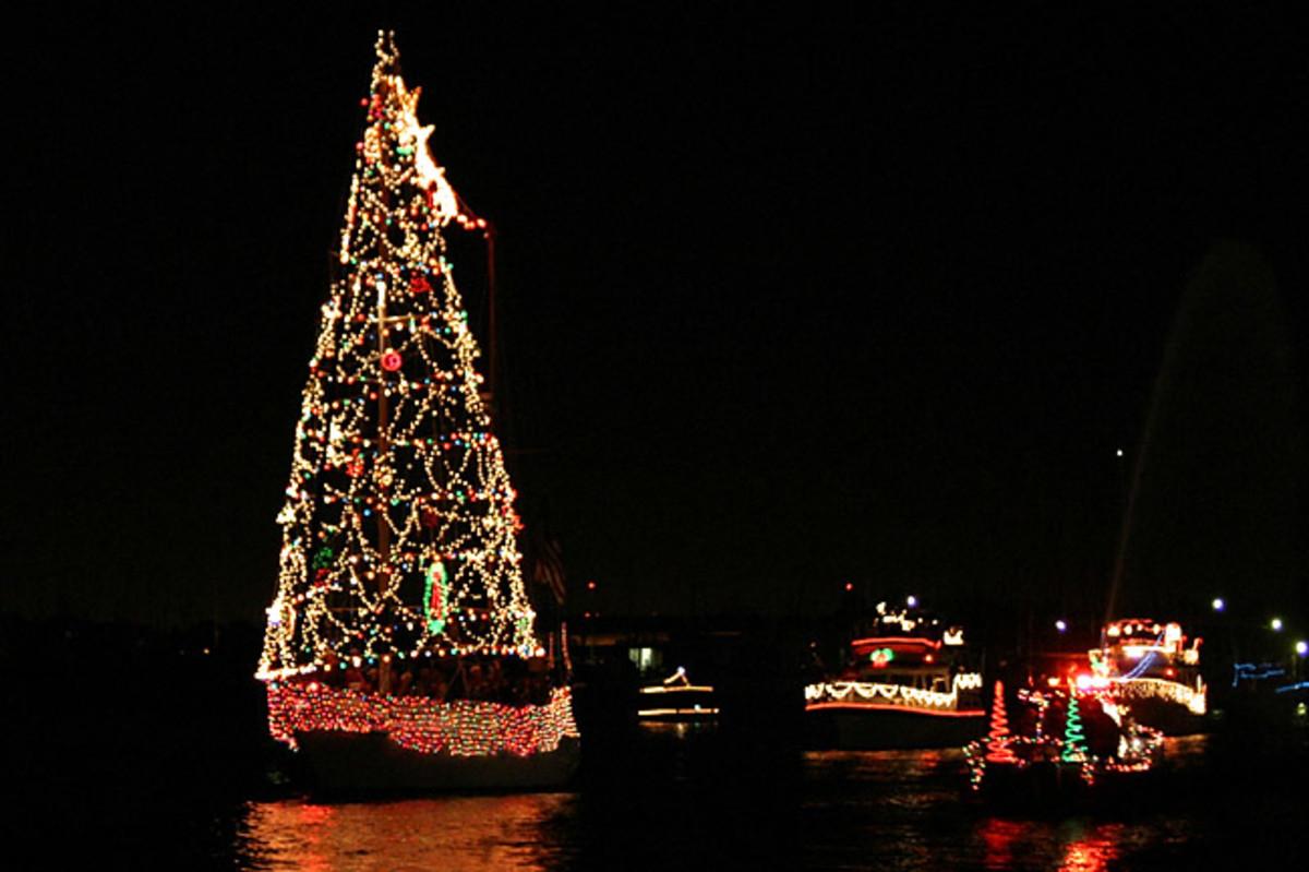 Christmas Boat Parade, Kemah, Texas