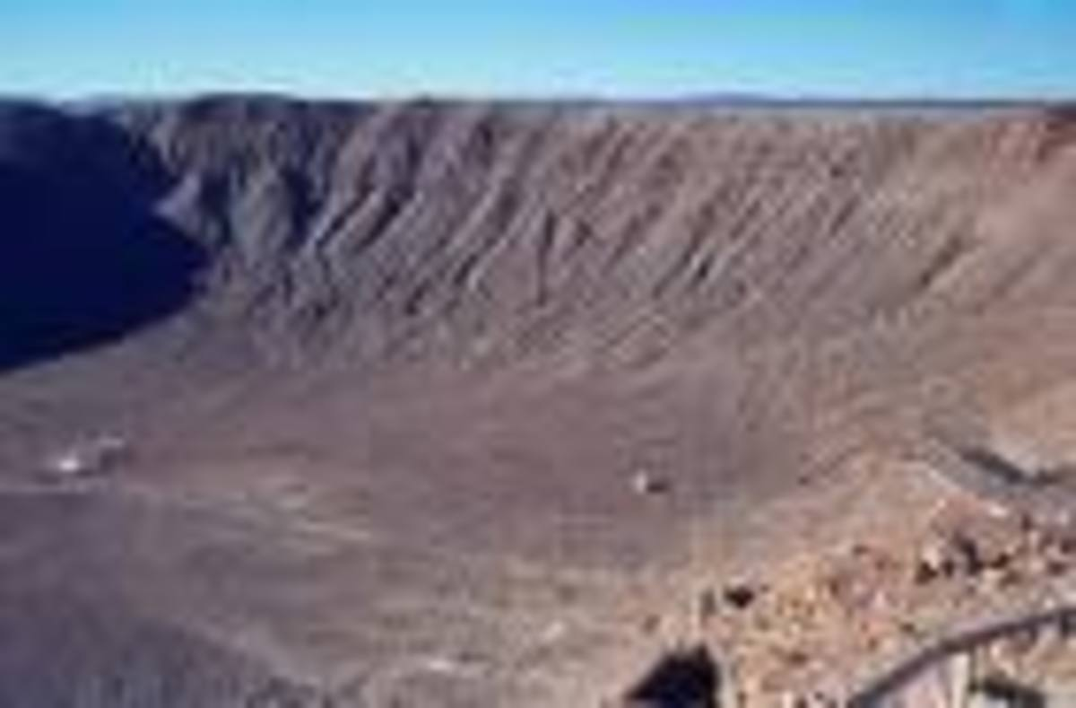 Meteor Crater, Arizona...looking for something out of this world...go here!